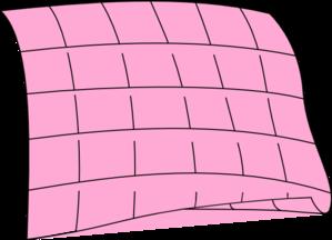 Pink quilt clip art at clker vector clip art