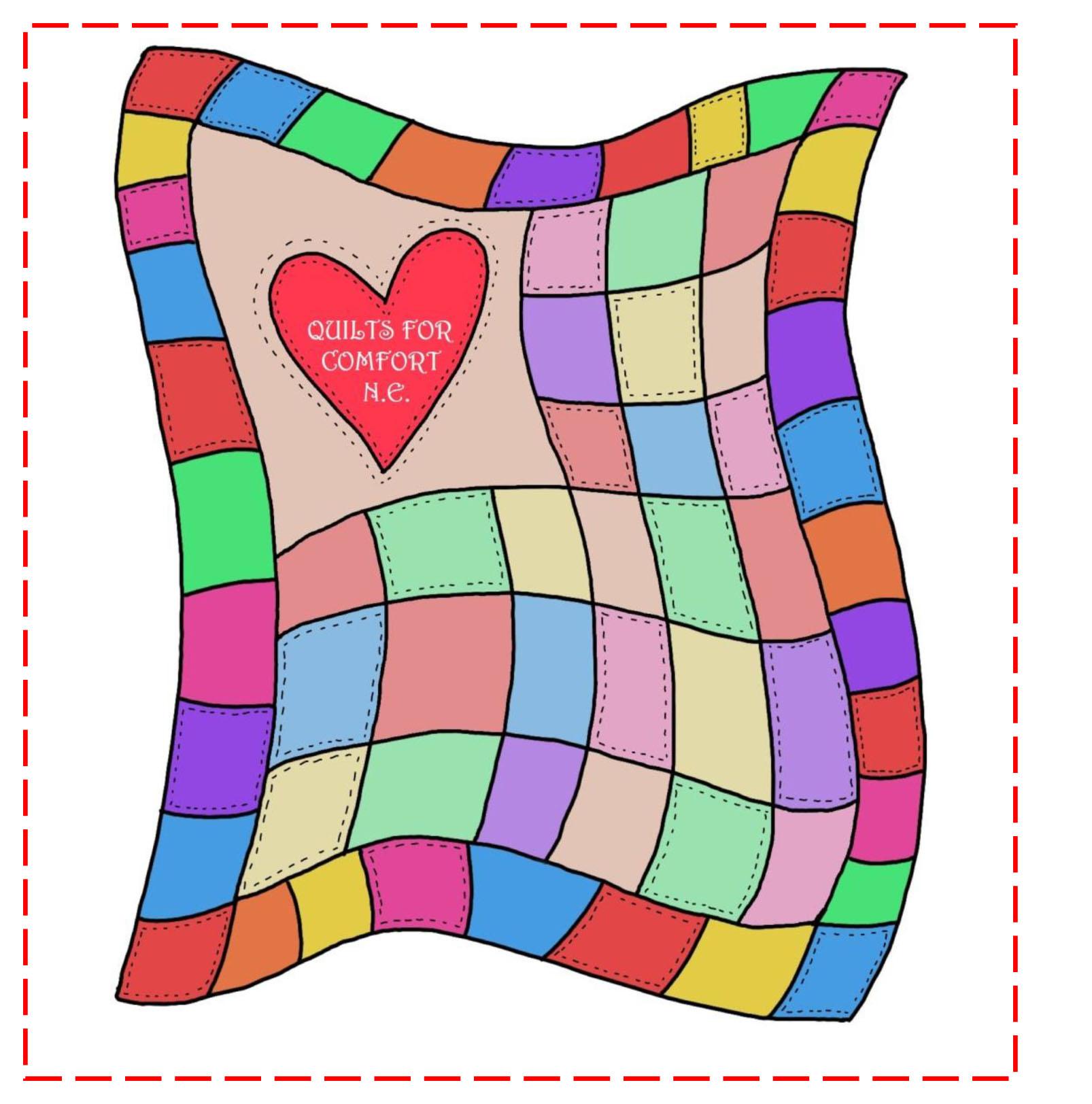 Quilt patchwork clip art image #30612