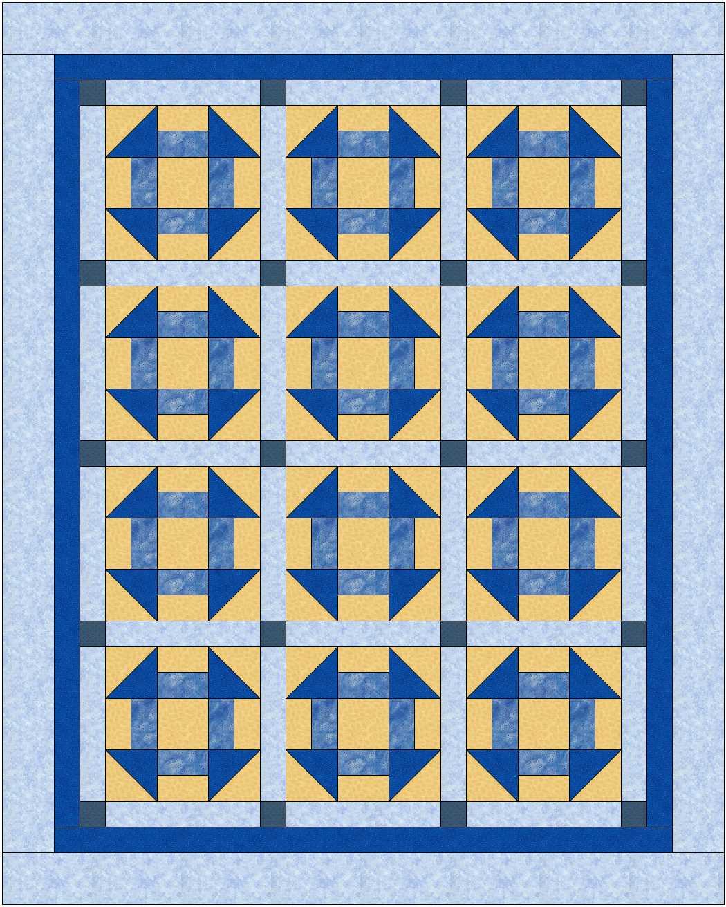 Quilt patchwork  clipart