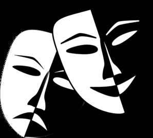 Theater theatre masks clip art at clker vector clip art 3