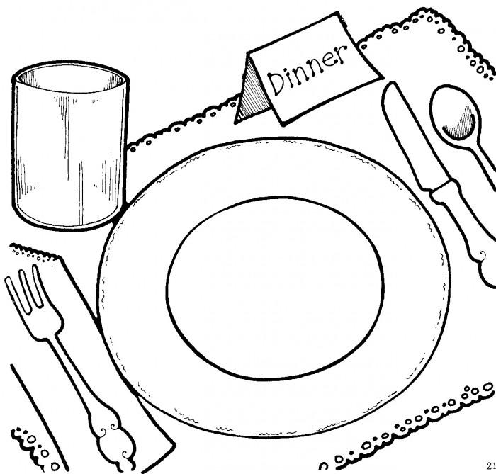 Dinner clipart 5