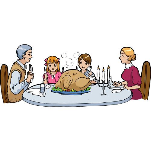 Dinner clipart 6