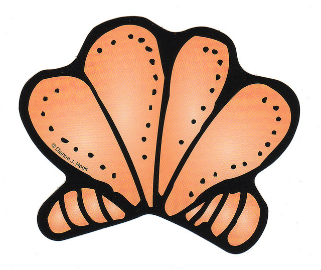 Seashell clip art clipart