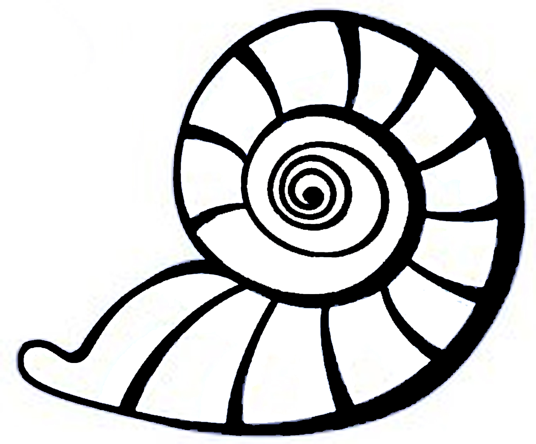 Seashell clip art seashell clip art seamless ocean border with 2
