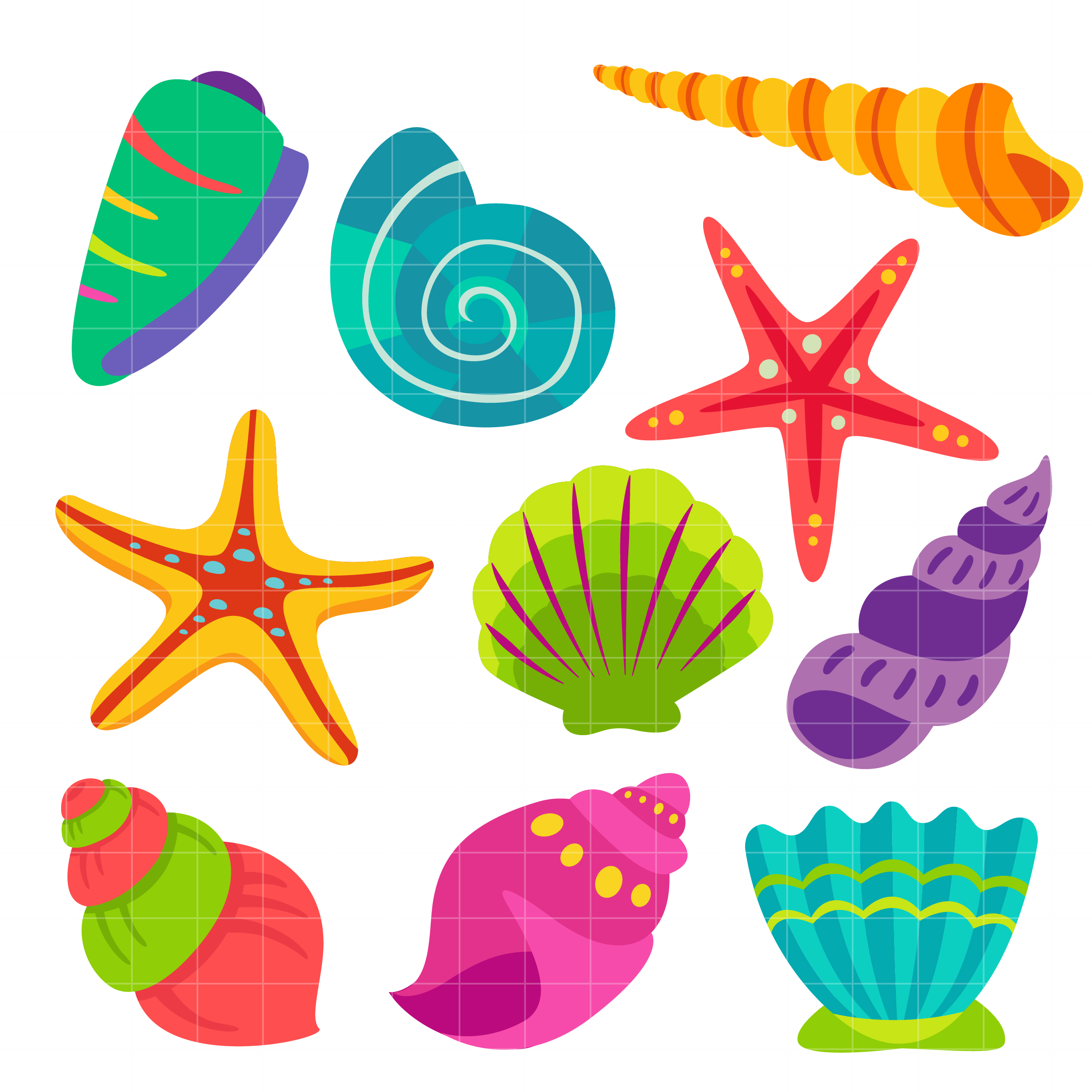 Seashell free sea shell clip art free vector for free download about 2 ...