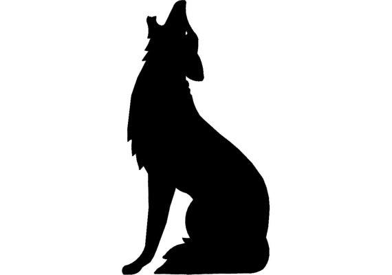 Coyote clip art 4