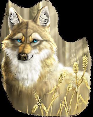 Coyote clip art graphics