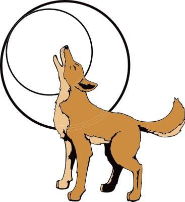 Coyote clip art