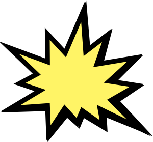Explosion clip art at clker vector clip art