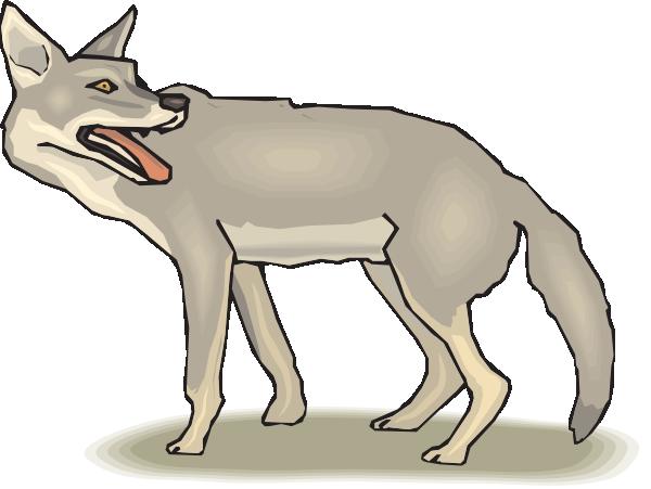 Free coyote clip art