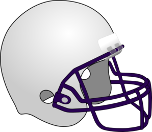 Photos Of Football Helmet Outline Front View Front Clipart Image 31535