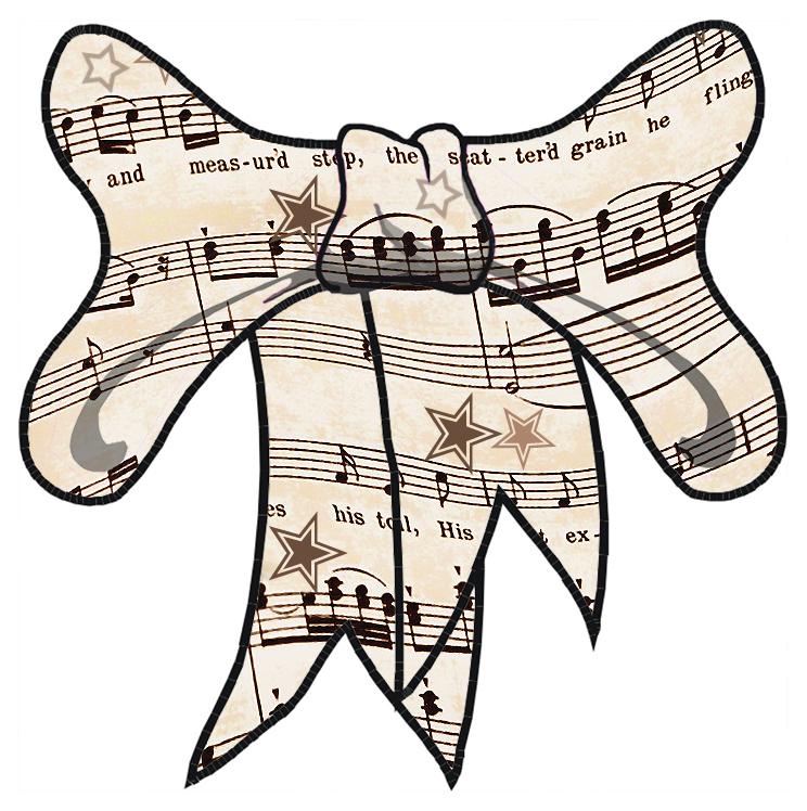 Musical lasso clipart