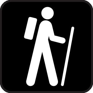 Hiker hiking clip art at clker vector clip art