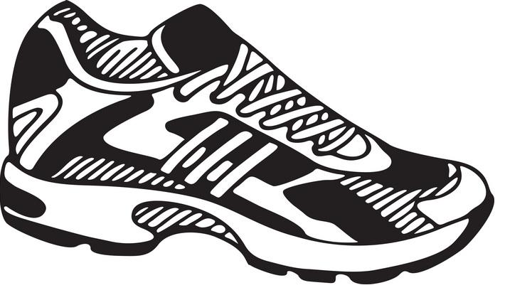 Running shoe clip art at vector clip art 2 image