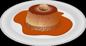 Caramel dessert clip art at clker vector clip art