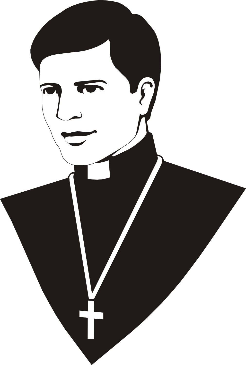 Diary of a rogue priest angel michael clipart 2