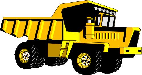 Dump truck clip art download