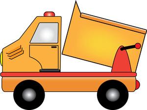 Dump truck clipart image clip