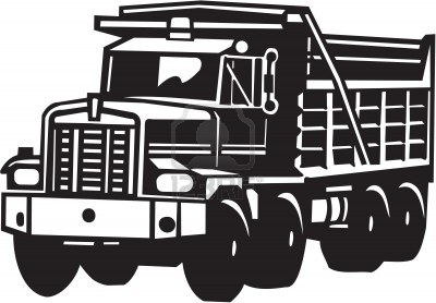 Dump truck clip art download image #32164