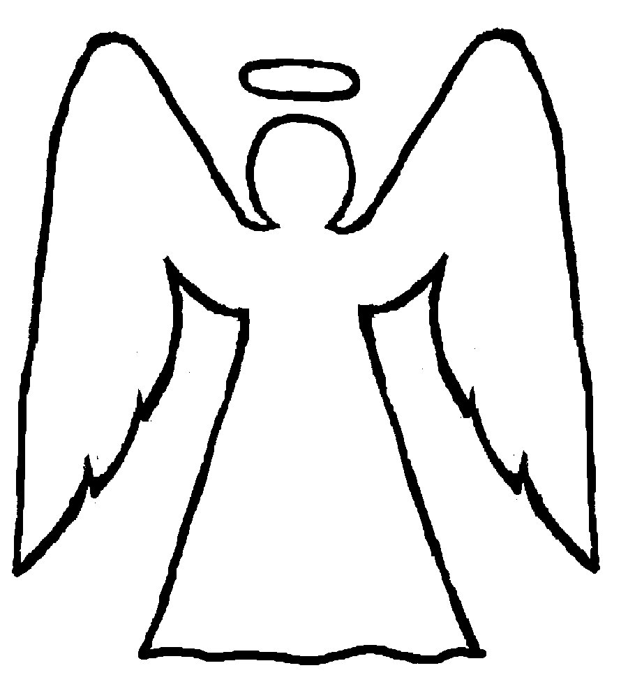 Angel Wings With Halo Clip Art