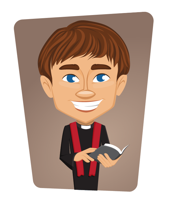 Priest free to use  clipart