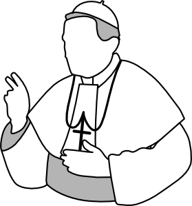 Priest pope clip art at clker vector clip art free