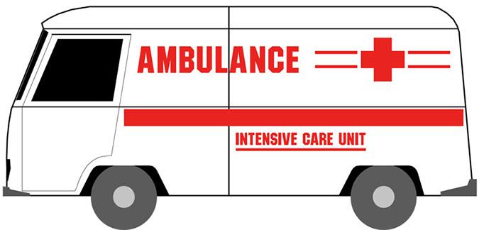 Ambulance clip art 3