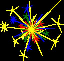 Clipart multicolored sparkle clipart clipart