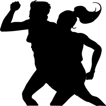 Fitness exercise clip art 2