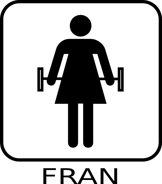 Fitness exercise clip art