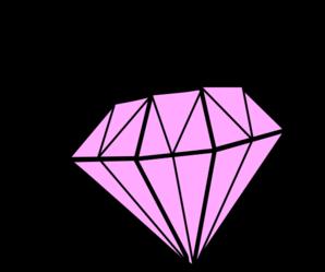 Sparkle pink diamond clip art free clipart images