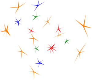 Sparkles clip art at clker vector clip art