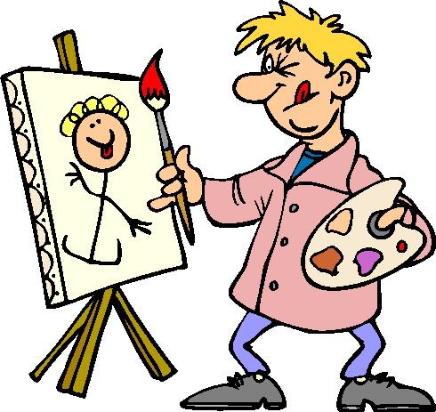 Free clip art painter painting danaspdb top