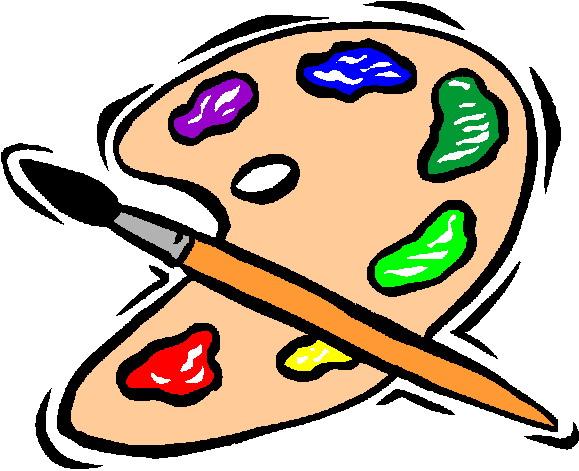 Paint clip art free clipart images