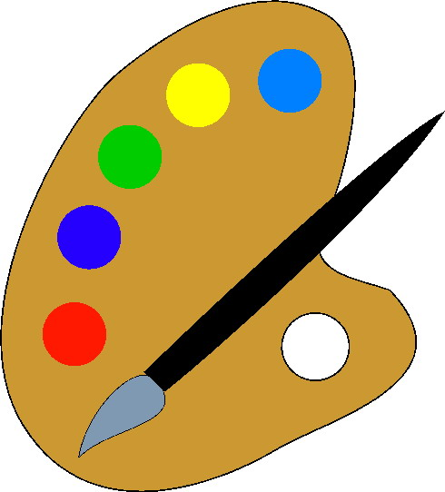 Painting clip art 7