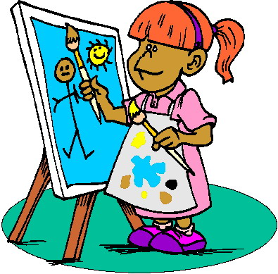 Painting clip art free toublanc info
