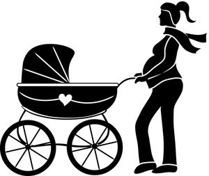 Pregnancy clipart pregnant woman clipart