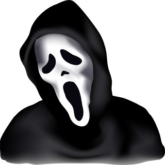 Scary halloween clipart