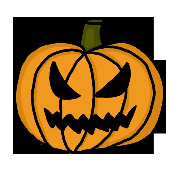 Scary pumpkin clip art co