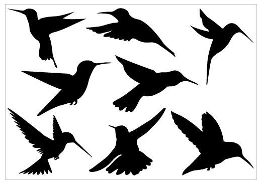 Bird silhouette birdsilhouette clipart