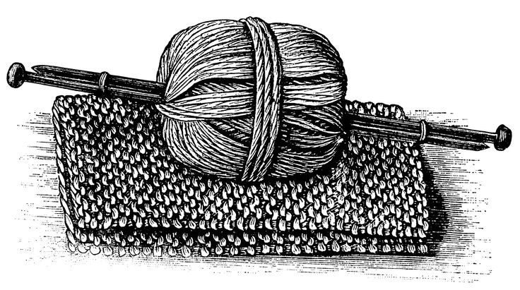 Knitting Clip Art - Images, Illustrations, Photos