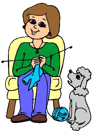 Knitting clip art 13