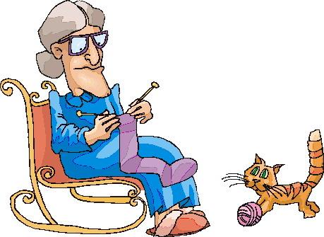 Knitting clip art 4