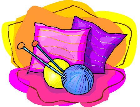 Knitting clip art 7