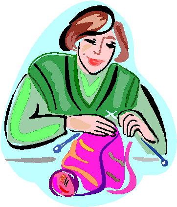 Knitting clip art 9