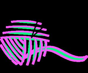 Knitting yarn clip art at clker vector clip art free