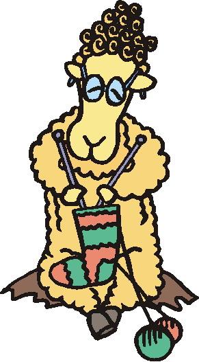 Sunny side yarns charity knitting clip art