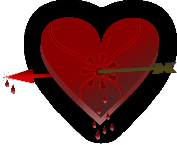 Broken heart icon icons etc clip art image #33744