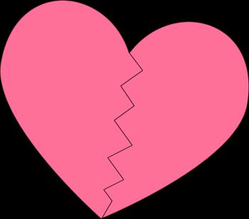 Broken heart heart clip art heart images