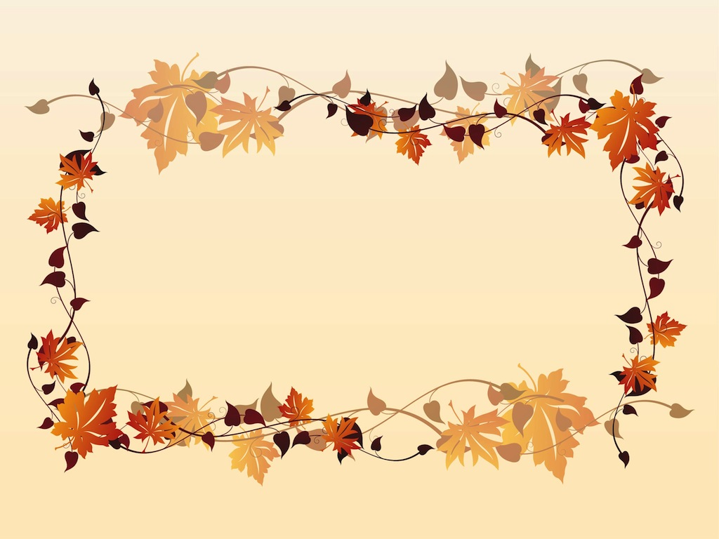 Fall border fall leaves border clipart free clipart images 3 image ...